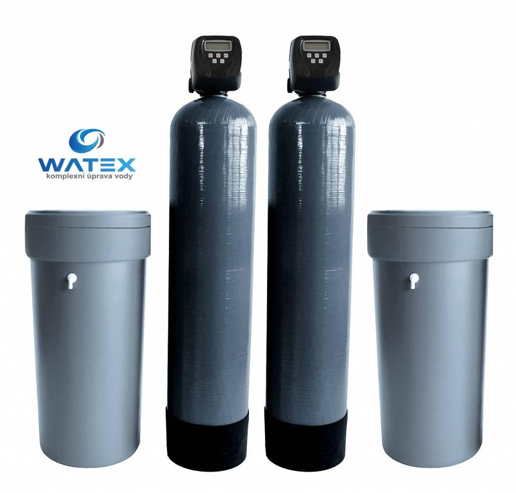 WATEX AL500 DUPLEX změkčovač vody pro bytový dům, průmysl, apod.