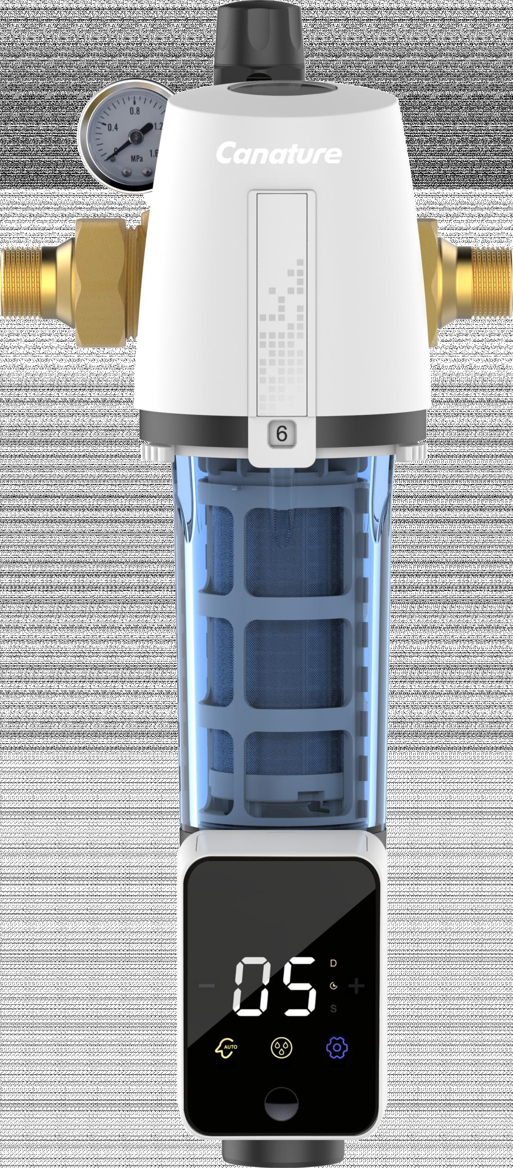Potrubní filtr WATEX - CPF8 s automatickým proplachem a redukčním ventilem