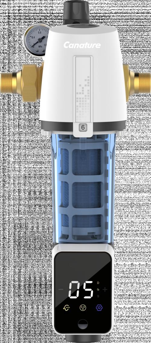 Potrubní filtr CFP-8 s automatickým proplachem a redukčním ventilem