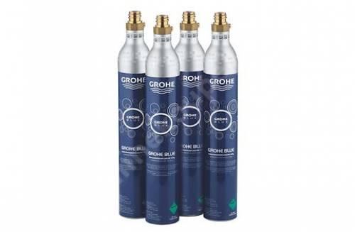 Náhradní tlaková láhev CO2 425g pro filtr Grohe Blue (set 4ks)