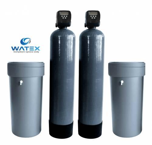 WATEX AL150 DUPLEX změkčovač vody pro bytový dům, průmysl, apod.