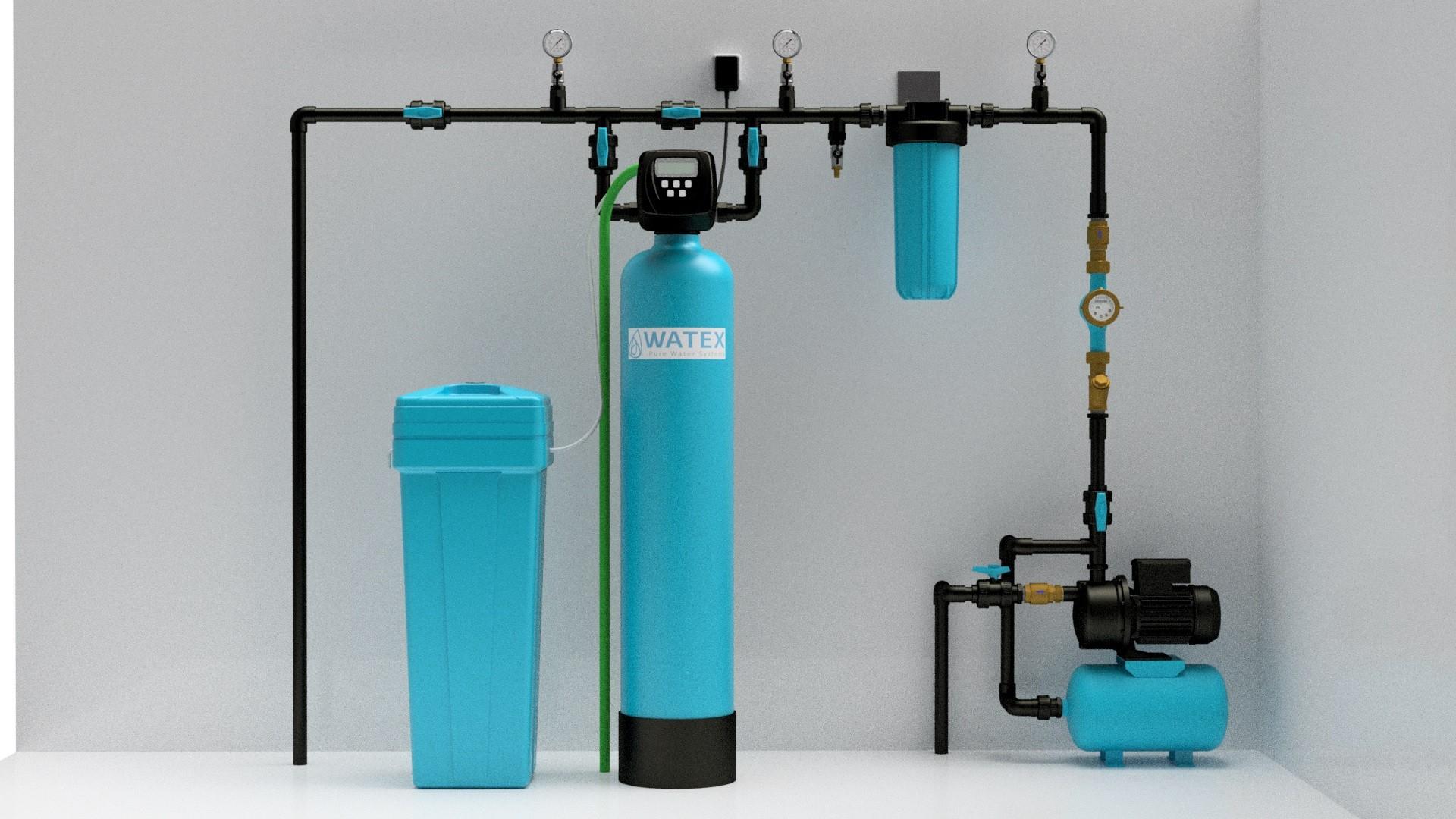 WATEX AL50 ECOSOFT Automatický změkčovač vody