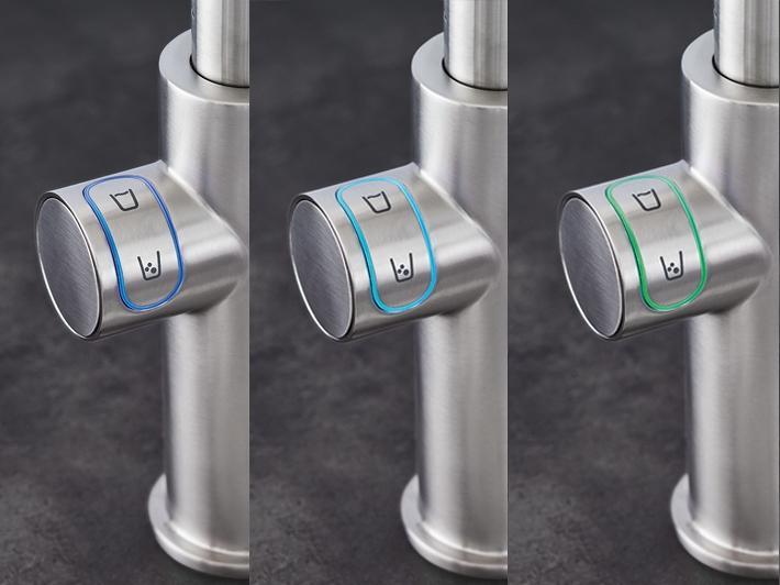 Kuchyňský filtr s chlazením a perlivou vodou - GROHE Blue